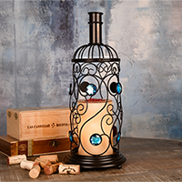 Wine Bottle Accent Shade