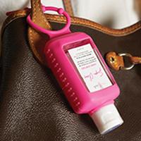 Pink 2 oz. Hand Sanitizer Holder