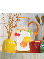 Sangria Pitcher Accent Shade