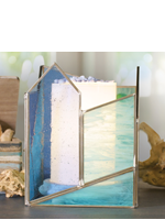Blue Seaglass Accent Shade