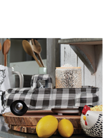 Gingham Truck Accent Shade