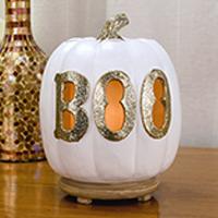 Boo Pumpkin Accent Shade