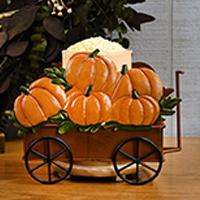Pumpkin Wagon Accent Shade