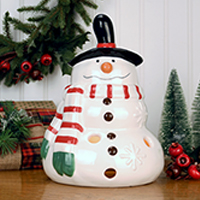 Melting Snowman Accent Shade