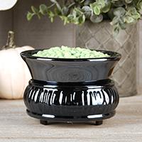 Glossy Black Simmer Pot
