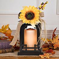 Fall-Winter Interchangeable Lantern Accent Shade
